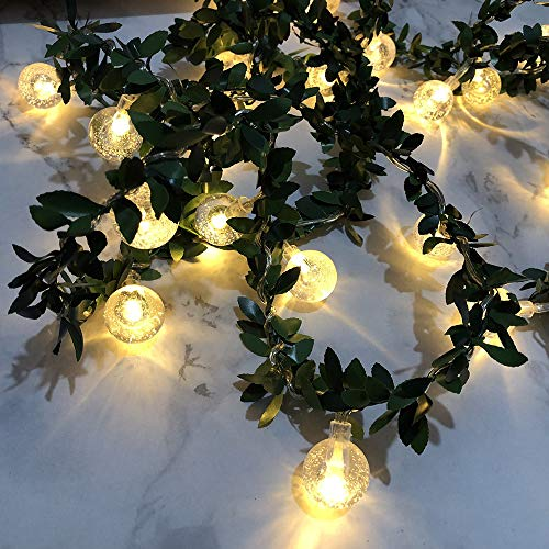 Euone  Christmas Clearance , 3M 20 LED Ball Light String Rattan Garden Room Home Holiday Decor Xmas Light Warm White from Euone
