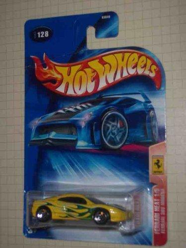 (Ferrari Heat Series #1 Ferrari 360 Modena 5-Spoke #2004-128 Collectible Collector Car Mattel Hot Wheels 1:64 Scale )