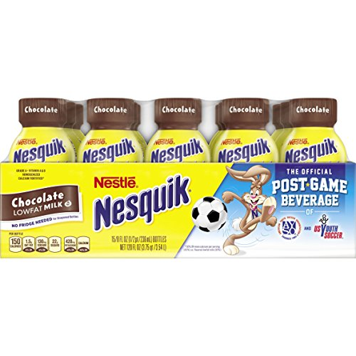 Nesquik Ready to Drink Chocolate Milk, 8 Ounce, 15 Count by Nesquik