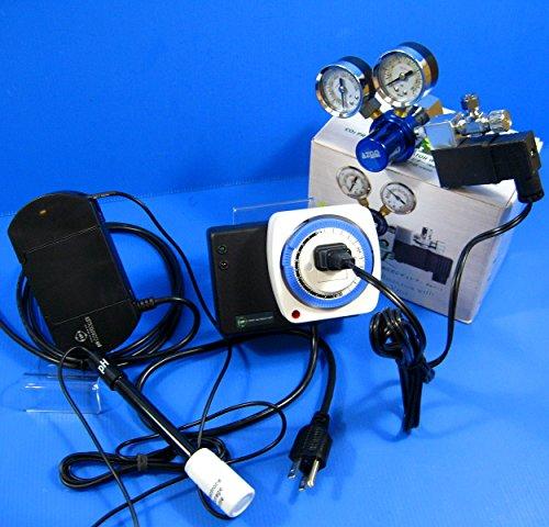PH Controller System - electrode probe BNC CO2 Regulator Timer tester 100~240V by Aquarium Equip