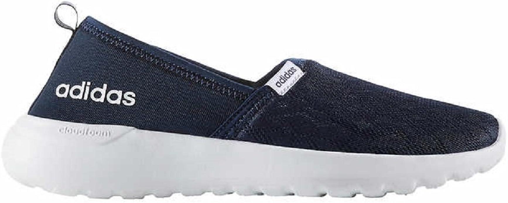 Adidas Neo Lite Racer Zapatillas Informales Sin Cordones Para Mujer 10 B M Color Azul Marino Amazon Es Zapatos Y Complementos