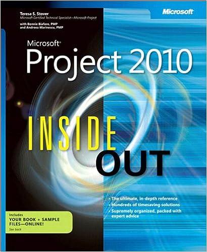 Microsoft Project 2010 Ebook