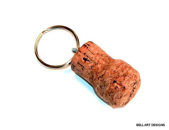 Amazon.com: 327-331 - Llavero de corcho de vino, diseño de ...