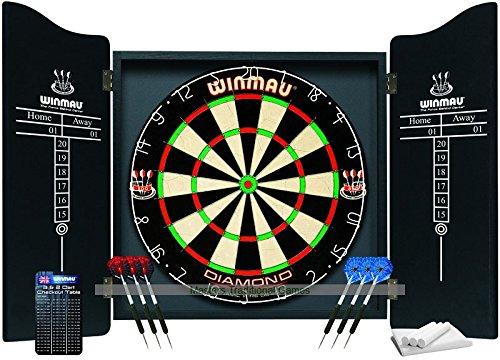 Winmau Professional Darts Set Ash Set Cabinet