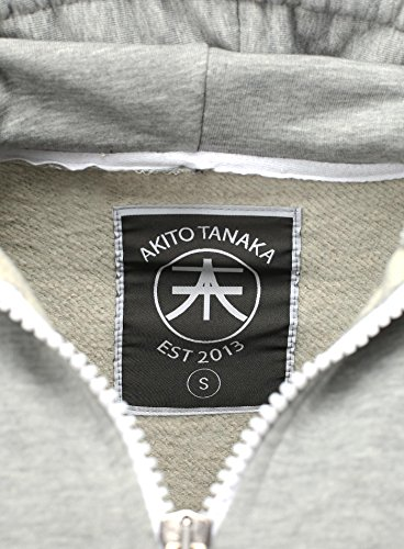 Akito Tanaka Uomo Tanaka Grigio Akito Felpa OqPHxrOwE 10556395cd2