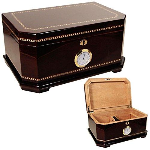 New Cuban Crafters Executive Gift Humidors Box for 150 Cigars (Crafters Cuban Humidor)