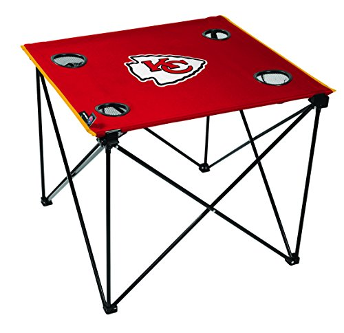 NFL Kansas City Chiefs Unisex NFL OS Kccchi TLG8 Delux Tablenfl OS Kccchi TLG8 Delux Table, Red, No Size ()