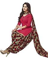 Jevi Prints Women's Synthetic Unstitched Salwar Suit Dupatta Material
