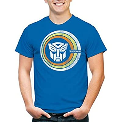 The Transformers 80s Retro Vintage Style T-Shirt For Men