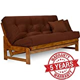 Nirvana Futons Arden Futon Frame – Queen Size, Solid Hardwood Review