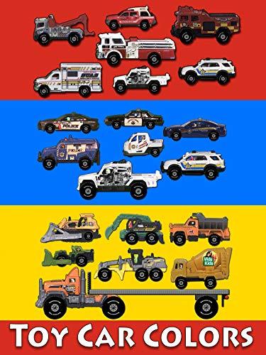 Toy Car Colors