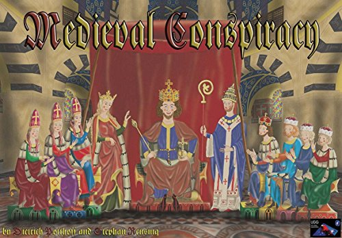 UGG: Medieval Conspiracy Board & Card Game [German-produced, English-language] by Udo Grebe Gamedesign