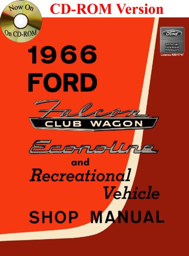 (1966 Ford Falcon Club Wagon, Econoline and Recreational Vehicle Shop Manual)