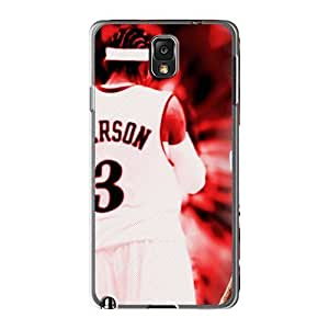 Great Hard Cell-phone Case For Samsung Galaxy Note 3 (QFv17950nLND) Custom Nice Allen Iverson Skin