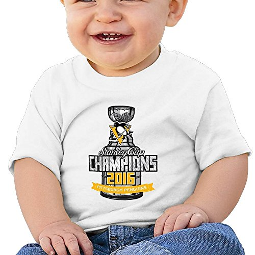 Pittsburgh Penguins Champions Design Print Infant T Shirt
