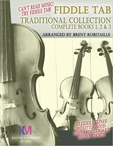 Amazon.com: Fiddle Tab - Traditional Collection Complete Books 1, 2 ...