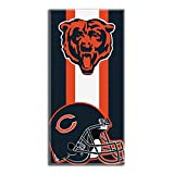 Bears OFFICIAL National Football League, Zone Read 30 x 60 Beach Towel