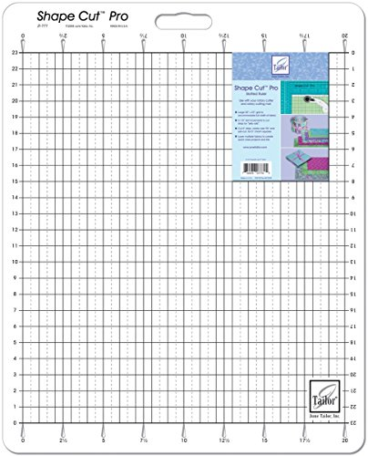 June Tailor 20-Inch-by-23-Inch Shape Cut Pro Ruler
