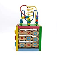 Winne Children's Jewelry Box Multifunctional Game Beaded Boy Baby Early Education Enlightenment Puzzle Building Block Toys