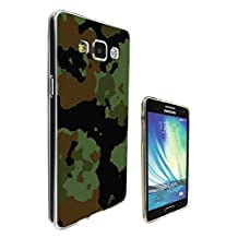 002242 - Army Scene Soldier camouflage. cool Design Samsung Galaxy A5 A500M - 2015 Fashion Trend CASE Gel Rubber Silicone All Edges Protection Case Cover