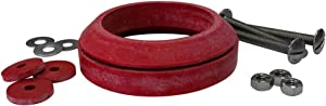 Korky 481BP Universal Toilet Tank To Bowl Gasket & Hardware Kit - Fits Most 3-Inch, 2-Piece Toilet Tanks - Made in USA