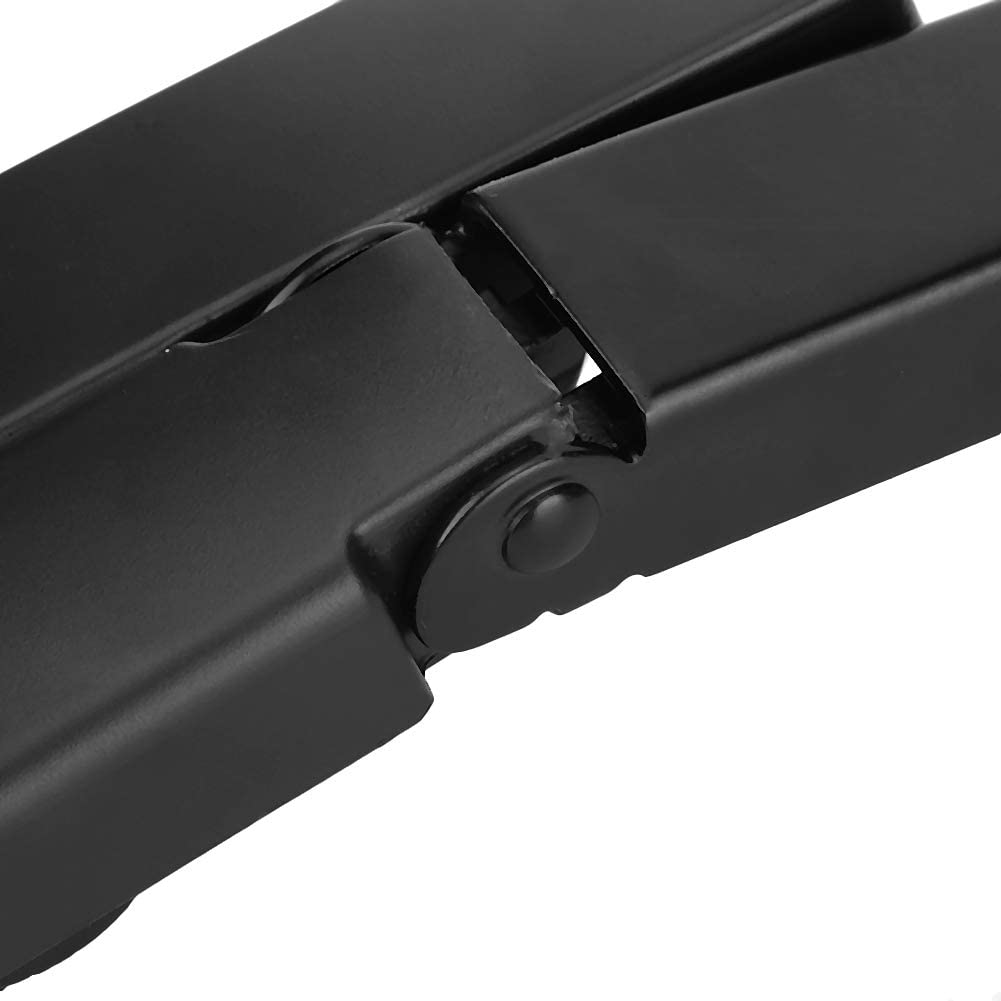 EBTOOLS Bras dessuie-glace pour pare-brise en alliage daluminium c/ôt/é passager avant compatible avec Q7 2007-2014 4L1955408B avant gauche