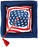Hog Wild Peeramid Reading Pillow, USA Flag
