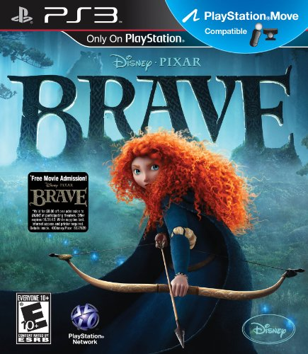 [Brave - Playstation 3] (Merida Bow And Arrow Costume)