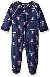 NCAA by Outerstuff NCAA Arizona Wildcats Newborn & Infant Raglan Zip Up Coverall, Dark Navy, 24 Months