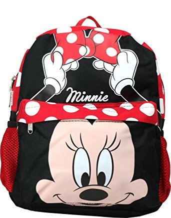 a26a23b0b378 Image Unavailable. Image not available for. Color  Disney Minnie Mouse 12  inches Toddler Mini Backpack