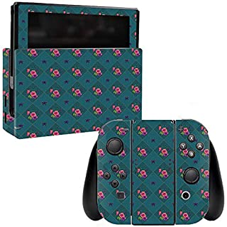 MightySkins Skin Compatible with Nintendo Switch - Botanical Butterflies | Protective, Durable, and Unique Vinyl Decal wrap Cover | Easy to Apply, Remove, and Change Styles | Made in The USA