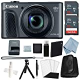 Cheap Canon Powershot SX730 HS Bundle (Black) + Advanced Accessory Kit – Including EVERYTHING You Need To Get Started