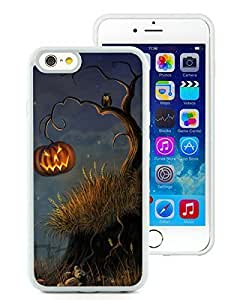 Personalized iPhone 6 Case,Halloween Tree White iPhone 6 4.7 Inch TPU Case 1