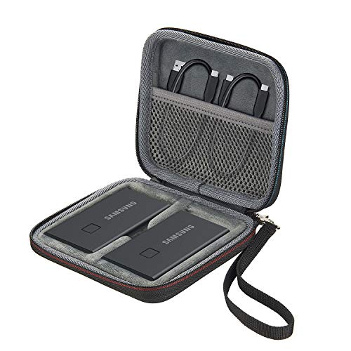 Zaracle 2 in 1 Carrying Case for Samsung T7 Touch Portable SSD 500GB 1TB 2TB External Solid State Drives