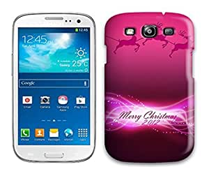 For Galaxy S3 Premium Tpu Case Cover Happy New Year 2012 Protective Case