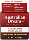 Australian Dream Arthritis Pain Relief Cream, 4 Ounce - Pack of 5