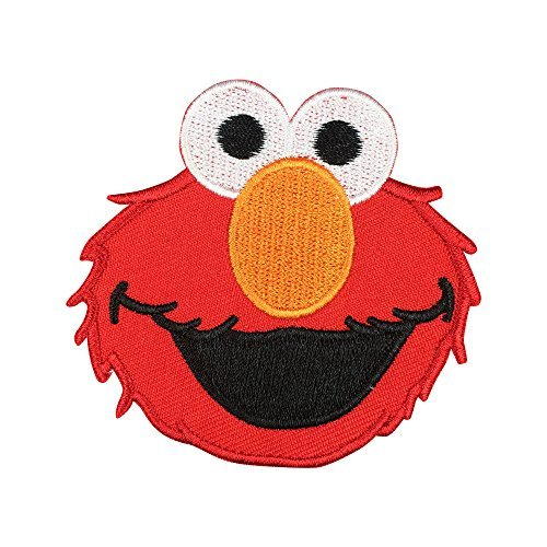 Sesame Street ELMO Patch Embroidered Cartoon Iron On Sew On Patches (Monster High Iron On)