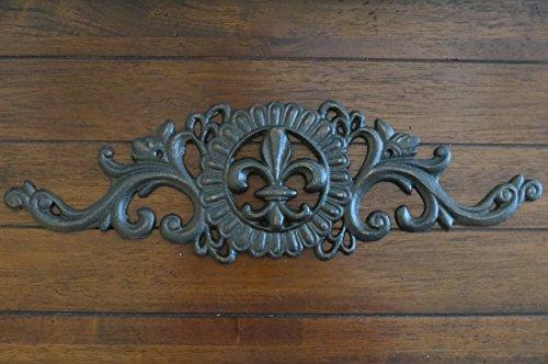 Fleur de Lis Wall Decor/ Oil Rubbed Bronze or Pick Your Color/ Cast ...