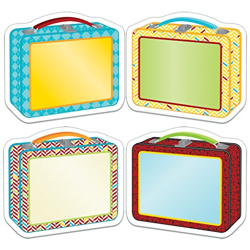 Carson Dellosa Hipster Lunch Boxes Cut-Outs (120215)