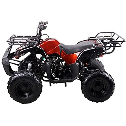 amazon com: coolster 3125r new spider 125cc kids atv fully auto with  reverse red: automotive