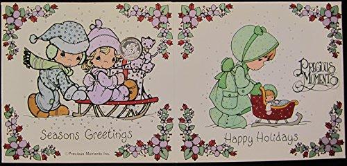 Precious Moments Happy Holidays / Seasons Greetings (Precoius Moments)