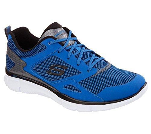 Black Herren Blue Walkingschuhe Skechers Blau W4n8pUWqR