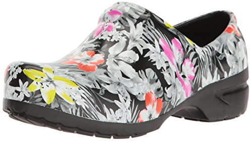 Anywear Women's Srangel Health Care and Food Service Shoe Speckled-tropical