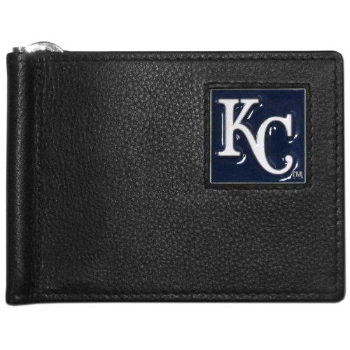 Royals Mlb Leather - MLB Kansas City Royals Leather Bill Clip Wallet