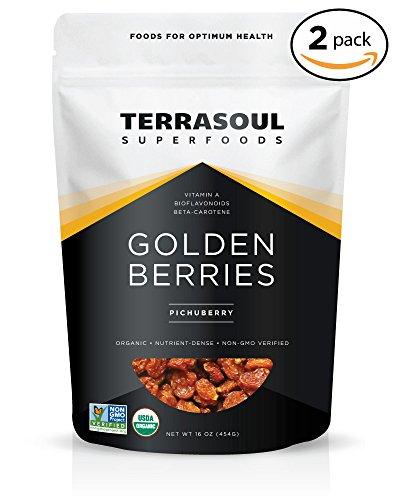 Golden Berries (Terrasoul Superfoods Organic Golden Berries, 2 Pounds)