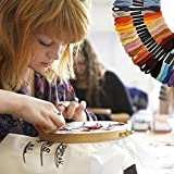 Embroidery Floss Friendship Bracelet String Cross