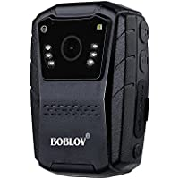 BOBLOV HD 1080P 150 Angle Police Body Worn Camera for night vision (16GB )