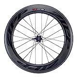 Zipp 808 Carbon Clincher Disc Brake Rear Wheel: 700c, V2, 10/11 Speed SRAM Cassette Body, Black Decal