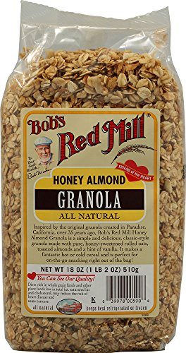 Bob's Red Mill Cereal Honey Almond Granola, 18-ounces (Pack ()
