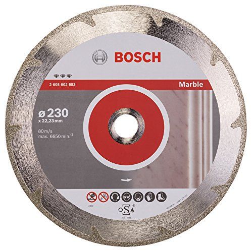 2608602693 Bosch 230MM Diamond Cutting DISC Best for Marble ()